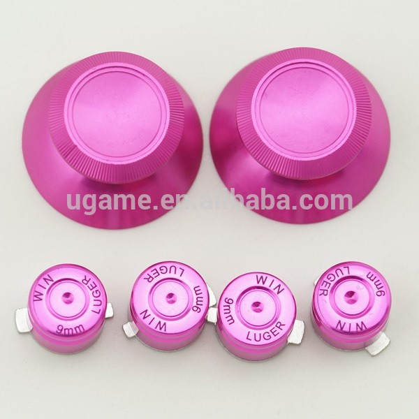 Colorful metal active buttons for ps4 controller