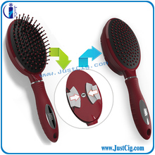 Fashion design portable plastic comb with best price self cleaning hair comb from China