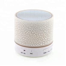 Hot Sell Good Promotion Mini Portable Colorful Light Wireless Speaker