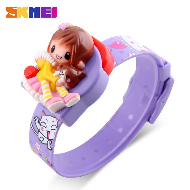 Good Quality Watches For Kids Cute Appearance Toy Watch Made By Skmei Manufacturer