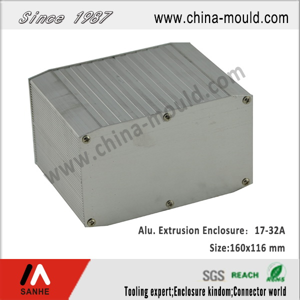 aluminum extrusion box