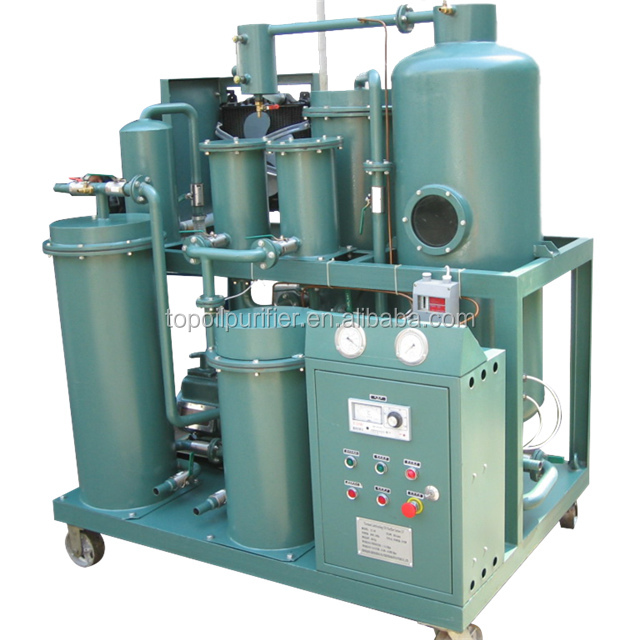 Caster Base Mounted china oil purifier for cleaning used hydraulic oil