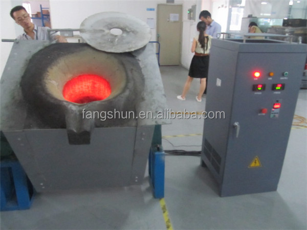 Melting aluminium or brass scrap of mini blast furnace for sale