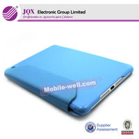 elegance pu+pu case with stand for ipad mini