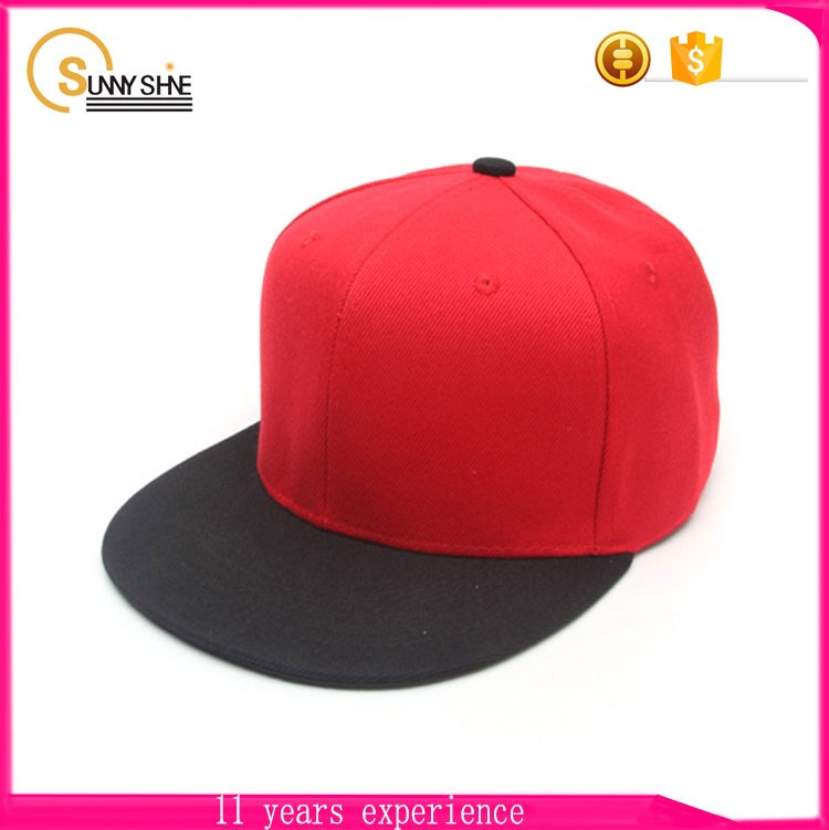 Hot Selling 6 Panel Flat Bill Hats Sale Low Price