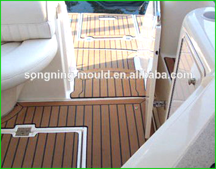 flexible marine teak floor/boat floor
