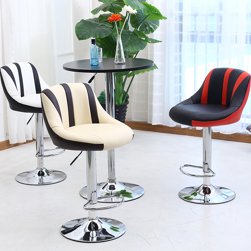Cheap Quality Stool High pvc high quality Leisure Style Bar Chair