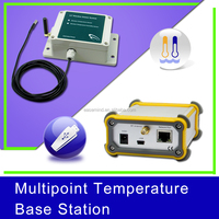 Multipoint Temperature Base Station waterproof zigbee flow sensor