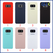 [GGIT]Environmental Friendly Liquid Silicone Phone Case For Sam Galaxy S8 Celulares