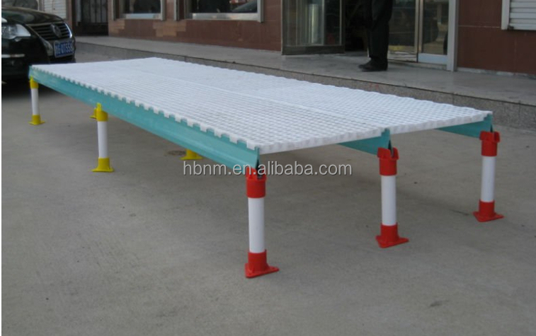 poultry shed PP plastic slats floor covering