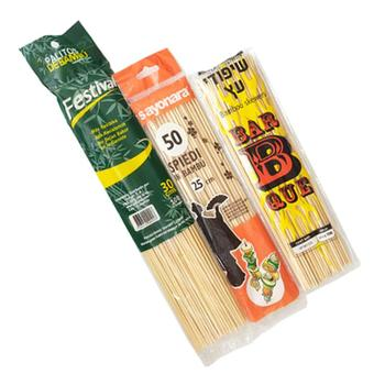 Bamboo Skewers 12 Inch(100 Nos.) suit for Home& kitchen
