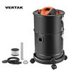 VERTAK Gardtech 800W/1000W/1200W electric ash cleaner with stainless steel,27L Capacity