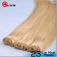 Alibaba Express Chinese distributors Virgin Remy Double Drawn blended color hair weave