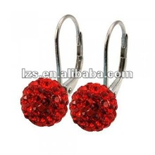 2012 Fashion shamballa hoop earrings