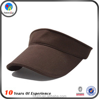 Hot sale blank visor cotton sun visor