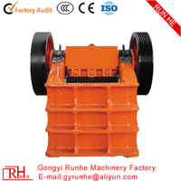 CE certificate and ISO9001 PE Series Jaw Crusher ,PE jaw crusher price list