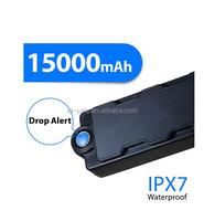 15000mAh Waterproof Magnetic Big Battery Vehicle GPS Tracker GSM Listening Device For Asset Safety Motion &Dismount Sensor