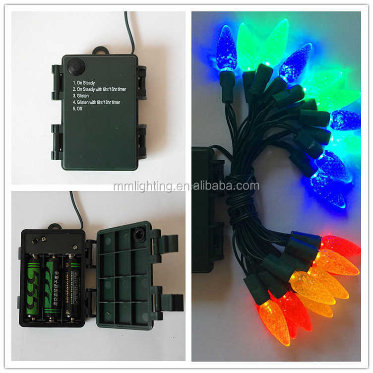 Christmas decorate led battery lights