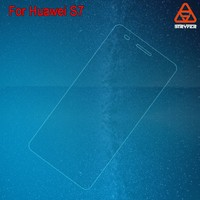 Mobile Phone Use Christmas promotion price tampered glass screen protector For Huawei S7