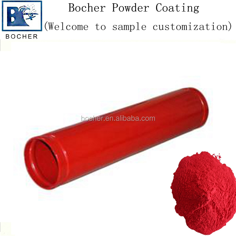 industrial pipes profile powder coating paint
