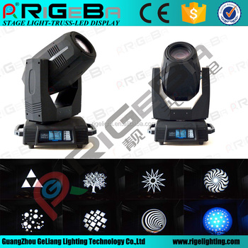 Top quality 17R 350W sharpy beam pro moving head light with good price