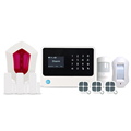 Smart home security Alarm alert system support IP camera/home automation & GSM WiFi GPRS home security system