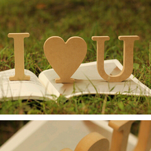 Decorative Alphabet Set A to Z Wood Letter Set Prop for Wedding Birthday Prom Party Show