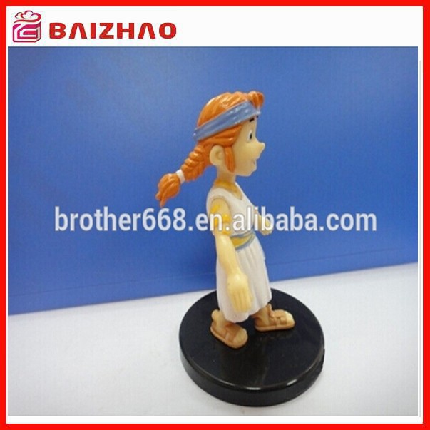 plastic figure toy with base plate,high quality pvc toy figure