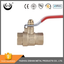 Widely used 1/2 inch swivel self closing cw617n brass valve