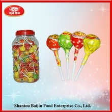 Different flavor sweet lollipop candy for wholesale