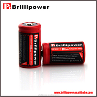 On sale Original aw18350 800mAh 3.7v li-iom rechargeable dry battery