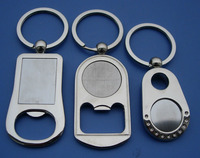 Zinc Alloy Mold Free Logo Sticker Bottle Opener Key Holders