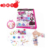 Hot selling diy beads set girls plastic jewelry wholesale educational toy for promotional
