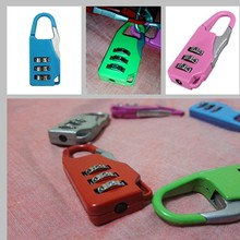 Good items 3 Digit Combination Security Safe Travel Luggage Code Lock Padlock