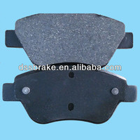 auto disc brake pads WVA23705 D1616 for Citroen Peugeot Fiat low price china factory