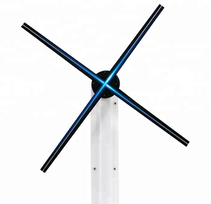 1080p high resolution 65cm hologram display led fan for <strong>advertising</strong>