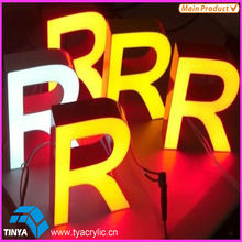 Resin Advertising Lighted Sign Letters