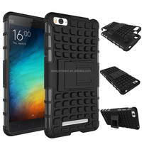 armor pc and tpu kickstand case for xiaomi mi4i