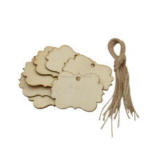 Blank Unfinished Wood DIY Gift Tags for Wine / Decor/ Wedding
