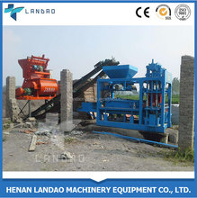 Low Prices China Automatic Cement Concrete Block Moulding Machine in Nigeria