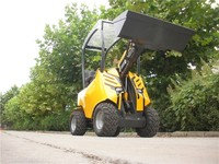 shanghai new tractor mini wheel loader with cheap price for sale