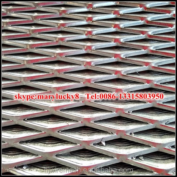 expanded metal sheets 4x8/carbon steel expanded metal sheet flattened