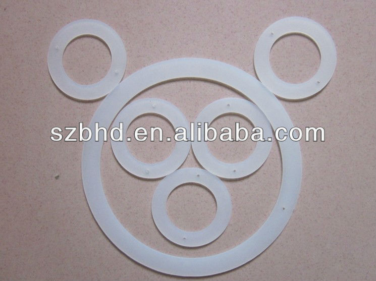 Different Sizes Clear Silicone Sealing Rings