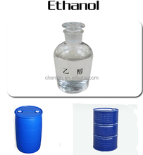 Factory price Ethyl Alcohol/Alcohol of high quality CAS NO. 64-17-5 sample free