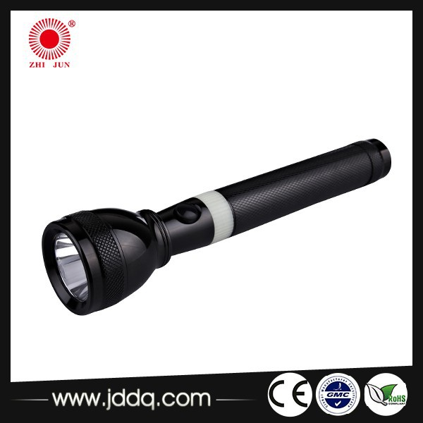 JD-203 2AA middle east LED Aluminium mini rechargeable torch / flashlight