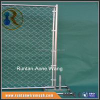 Hot Dipped Galvanized Construction 8ftX12ft Framed Portable Chain Link Fence Panel ( Manufacturer )