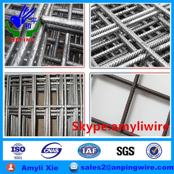 welded steel fabric for concrete reinforcing mesh