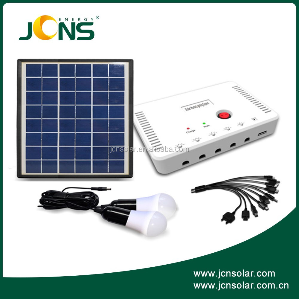 The cheapest price portable rechargeable 9V panel solar kit 4w for house