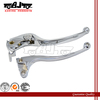 BJ-LS241-015 chrome motorcycle Alloy Clutch Brake Lever handle lever for Kawasaki ZX10R 2006-2007
