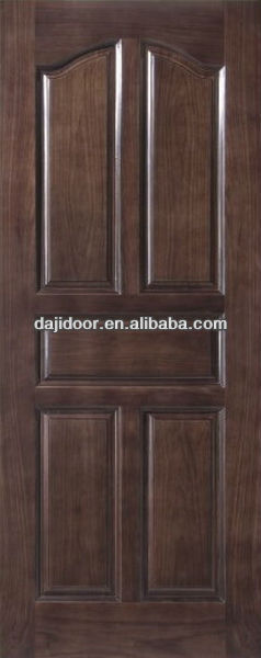 Luxury 5 Panels Solid Wood Internal Doors For Apartment DJ-S328
